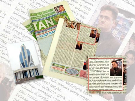 Management Turkmenistan in newspapers