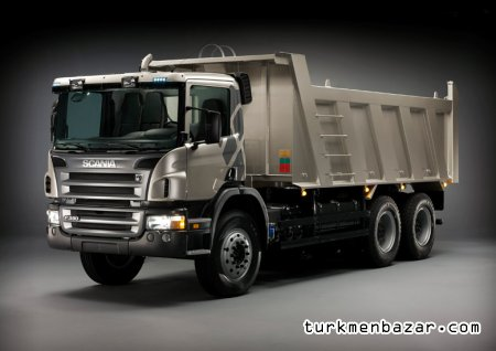Scania - tipper 6x4  P380CB